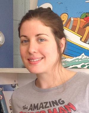 Amélie Roy, la nouvelle recrue de l'Escouade des bibliothécaires!