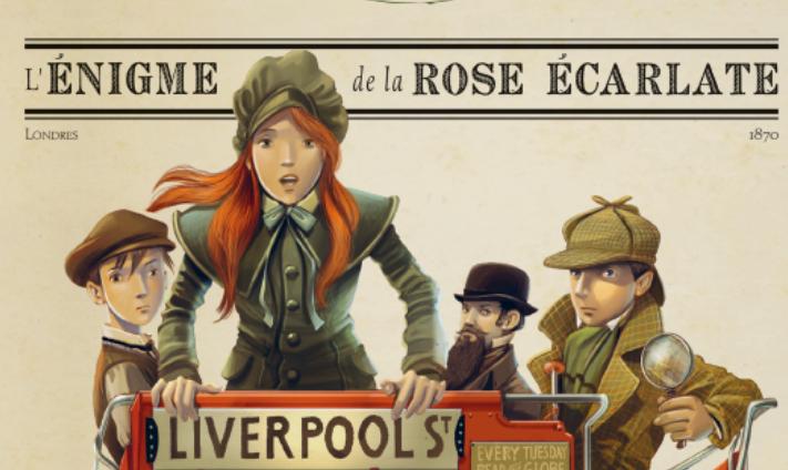 Critique du roman L'énigme de la rose écarlate (par Emile Thibault)